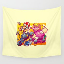 Beware The Blue Shell Wall Tapestry