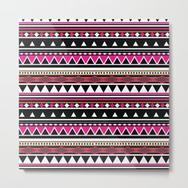 Aztec Pattern No. 5 Metal Print