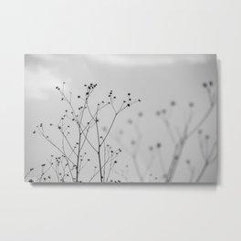 Silhouettes Metal Print