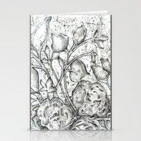 lace Stationery Cards featuring Lace by Irina  Mushkar'ova