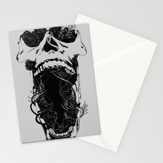 Chaos and Clarity ~ Black Stationery Cards