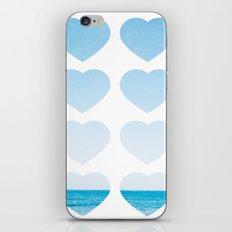 Love For The Sea iPhone & iPod Skin