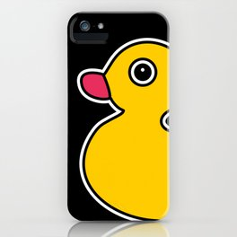 Yellow Rubber Duck iPhone Case