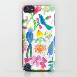 Bird Gardens II iPhone Case