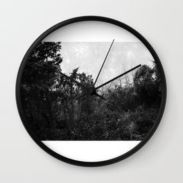 Forest poetry Wall Clock