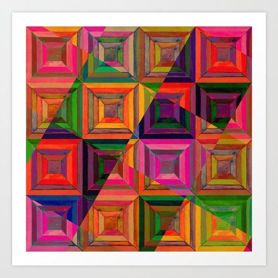 geometric 03 Art Print