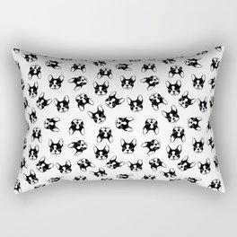 French bulldog pattern Rectangular Pillow