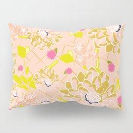 Energizing spring summer flowers Pillow Sham