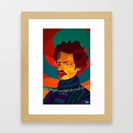 Save Tonight Framed Art Print