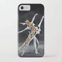 ballet iPhone & iPod Cases featuring Ballet by Ben Giles