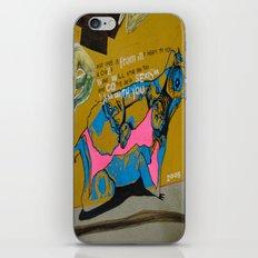 contre de la sexism iPhone & iPod Skin
