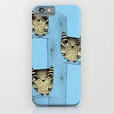 Owls (blue) Slim Case iPhone 6s