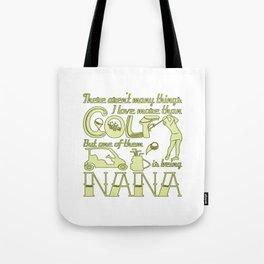 Golf Nana Tote Bag