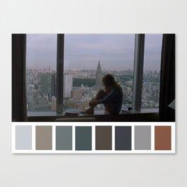 Charlotte Window Tokyo View Canvas Print