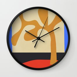 abstract minimal tree Wall Clock