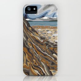 Autumn Hike to North Cove iPhone Case