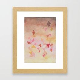 composición 2  Framed Art Print