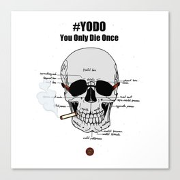 #YODO Canvas Print