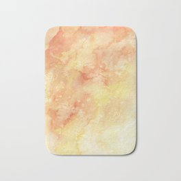 Sunset Watercolor Wash Bath Mat
