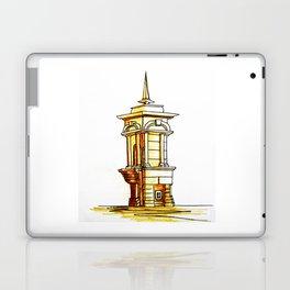 old town . fountain Laptop & iPad Skin
