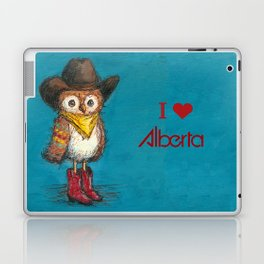 Cowboy Owl Laptop & iPad Skin