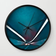 City Lights II Wall Clock