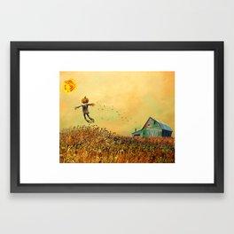 the Corn King Framed Art Print