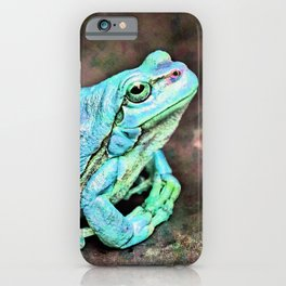 The InFocus Happy Frog Collection VIII iPhone Case