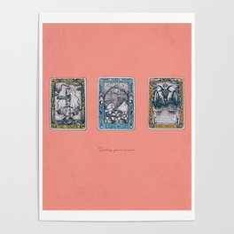 My Cards Say You're Screwed Poster