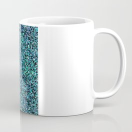 treemap mosaic - copper sulfate Coffee Mug