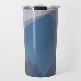 Abstract Mountians Travel Mug