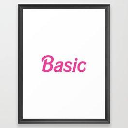 Basic Framed Art Print