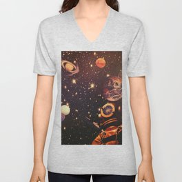 Space Boots. Unisex V-Neck