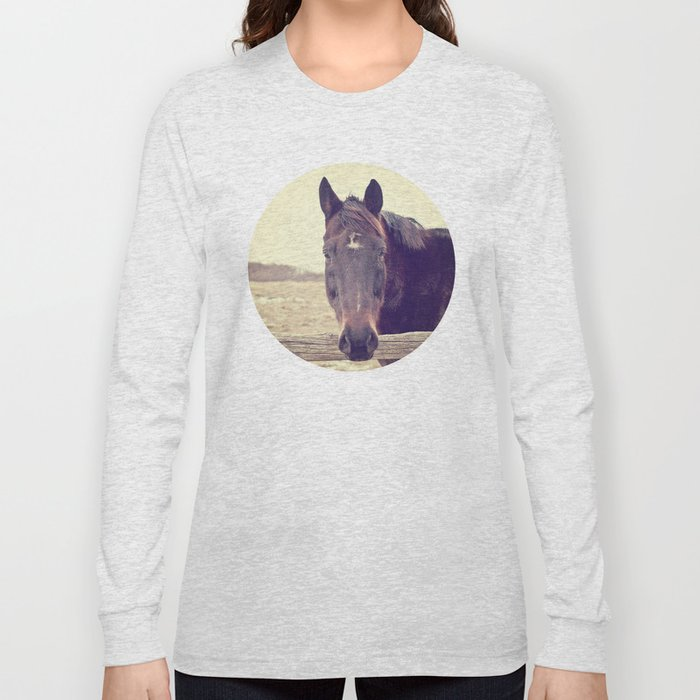 Hello Horse  Long Sleeve T-shirt
