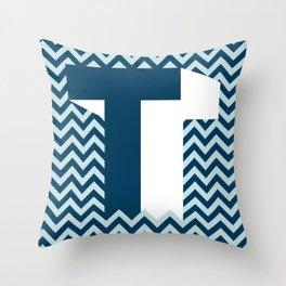 T. Throw Pillow