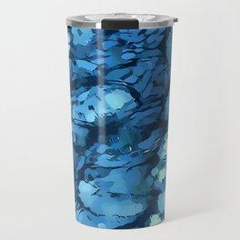 Blue Anguish Travel Mug