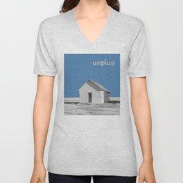 Unplug Unisex V-Neck