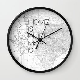 Mother's Day - Texas Wall Clock