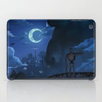 castle in the sky iPad Cases featuring Castle in the Sky by Chibionpu