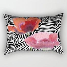 floral bar  Rectangular Pillow