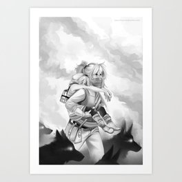 Lost in the Fire Art Print