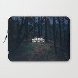 On loneliness. Laptop Sleeve