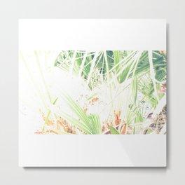Las palmeras Metal Print