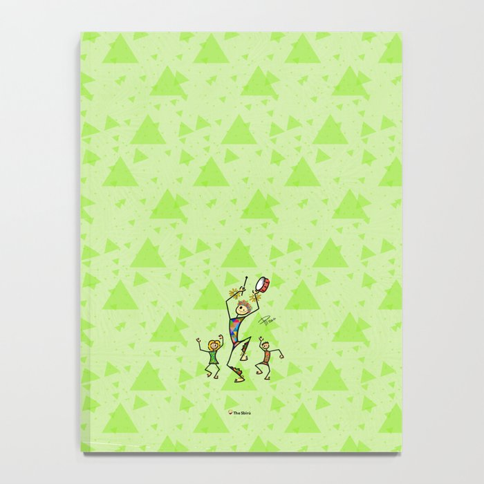 Carnival harlequin Notebook