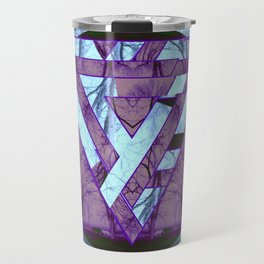Twisted side Travel Mug