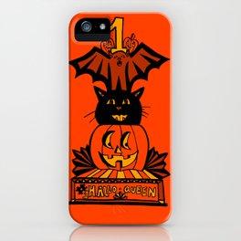 Vintage Hallow Queen Trophy iPhone Case
