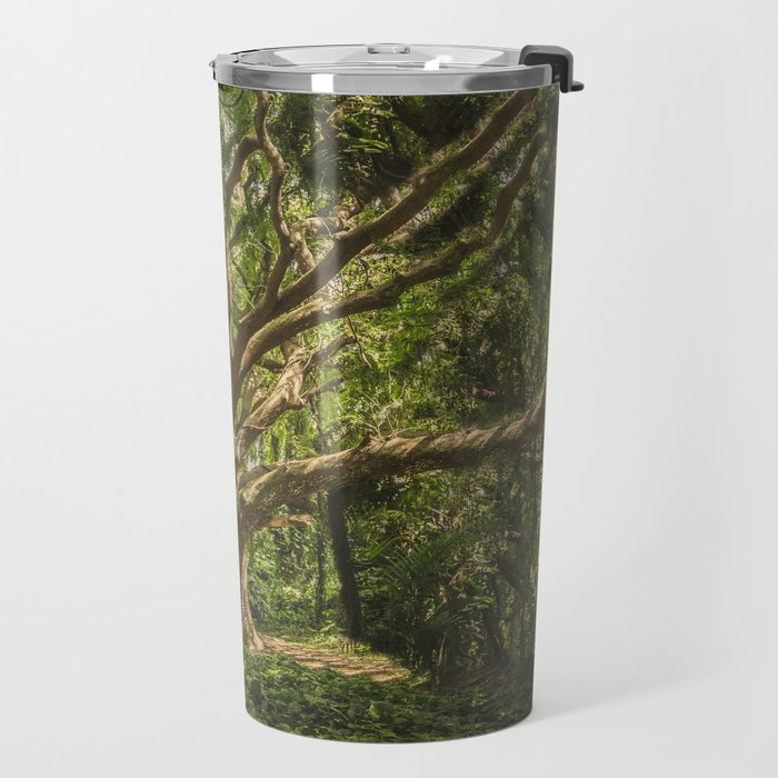 Spirits inside the wood Travel Mug
