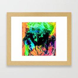Summer Fireworks Framed Art Print