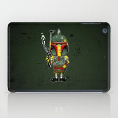 SpongeBoba Fett - Star Wars Spongebob mashup iPad Case