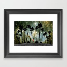 Paradise Galaxy Dream Framed Art Print